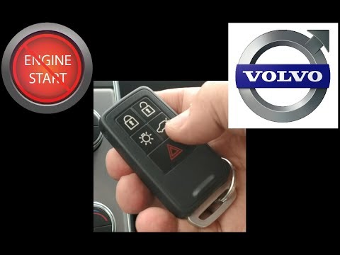 Volvo key fob battery replacement, early version, updated