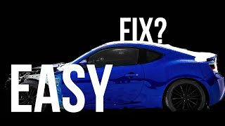 I bought a WRECKED Scion FRS SALVAGED from the auction (Iaai/Copart)