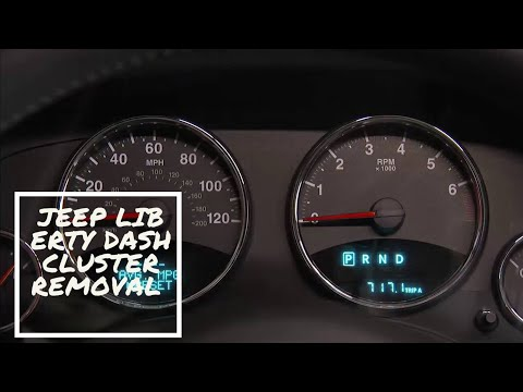 Jeep Liberty Dash Cluster Removal Instrument Cluster Removal