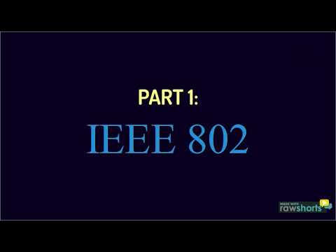 Summary of IEEE 802 & IEEE 802.11