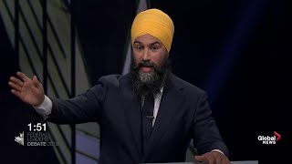 Leaders' Debate Wrap: Jagmeet Singh stands out in the pack