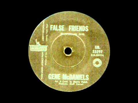 Gene McDaniels - False Friends