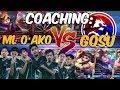 GOSU VS ML O AKO - COACHING TEAM GOSU PART 2