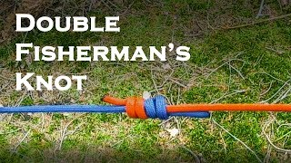 How To Tie A Double Fisherman's Knot | Bushcraft & Outdoor Knots