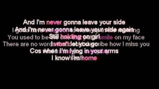Daniel Bedingfield - Never Gonna Leave Your Side (Lyric)