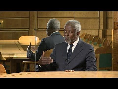 Kofi Annan - A UN ready to move forward, 70th Anniversary Messages (7 October 2015)