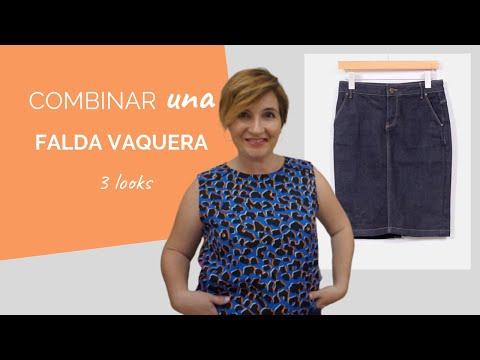 9f1693177 Combinar falda vaquera | Asesoría de Imagen personal - YouTube