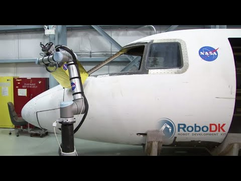 Automated inspection - NASA Langley Research Center - RoboDK