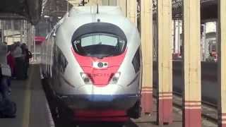видео High speed train ST Petersburg to Moscow | видеo High speed train ST Petersburg to Moscow