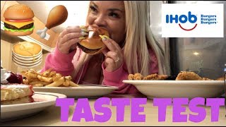 trying the new ihob (international house of burgers) is it worth the hype? | eating show