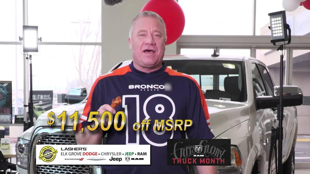 Elk Grove Dodge Chrysler Jeep Ram Pregame Commercial 2016 Youtube