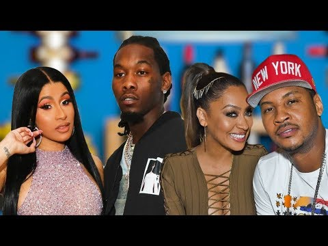 Exclusives| Lala & Carmelo, Cardi & Offset, Megan The Stallion, Dwight Howard, Kevin Spacey & More!