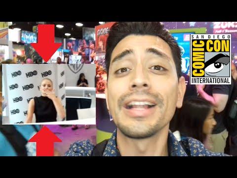 COMIC CON 2016 - GAME OF THRONES - SOPHIE TURNER ME SALUDA!!