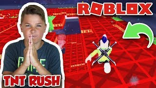 THE FLOOR IS TNT in ROBLOX TNT RUSH | VOLTRON EVENT | COLLECTING BAYARDS