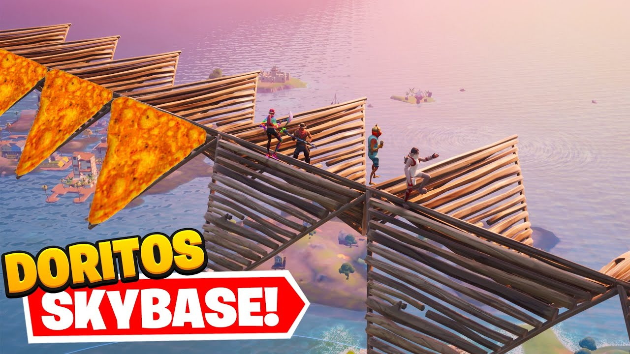 THE DORITOS CONE SKYBASE! (overpowered)