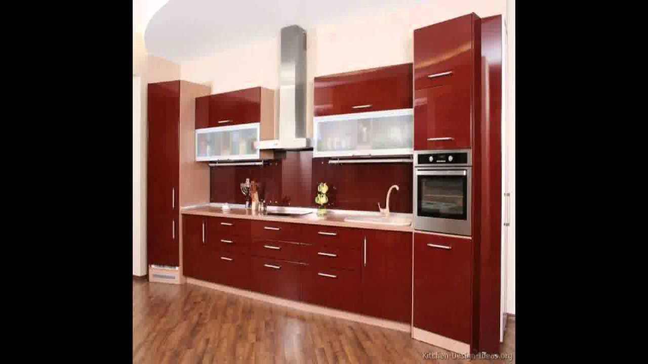 Kitchen Woodwork Design Video - YouTube