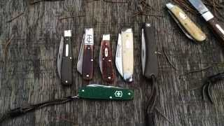 My Top 5 Most Carried Traditional Knives, with a few Honorable Mentions