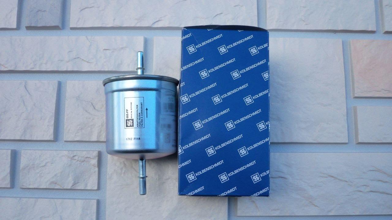 Замена топливного фильтра Вольво
