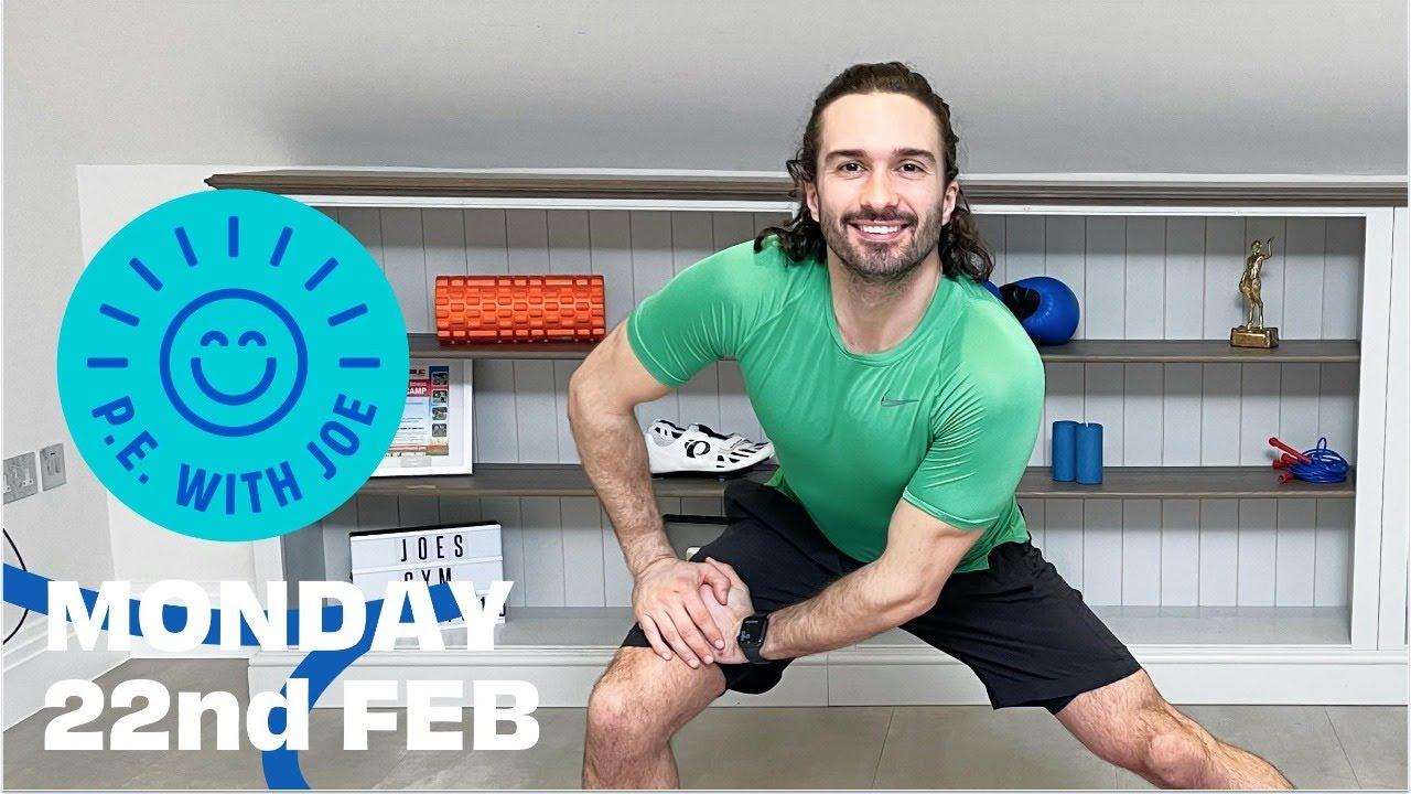 PE With Joe 2021 | Monday 22nd Feb