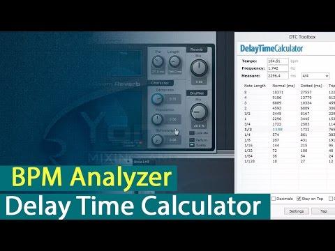Работа с BPM Analyzer и Delay Time Calculator