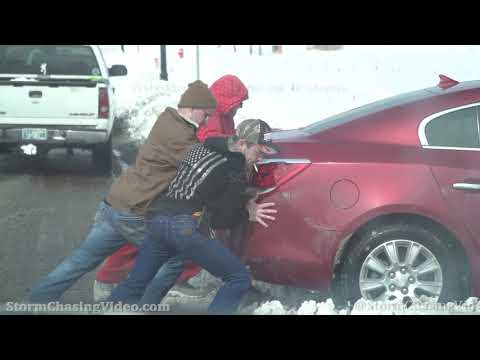 Deep Snow Causing Travel Headaches In Oklahoma City, OK - 2/17/2021