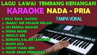 Nonstop Lagu Nostalgia Tembang Lawas - Karaoke Nada Cowok/Pria | HD