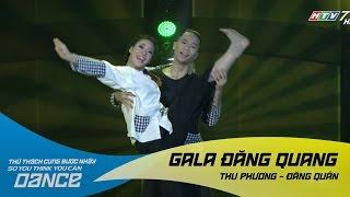 Lý Cây Bông   Thu Phương - Đăng Quân   Thử Thách Cùng Bước Nhảy 2016 Gala đăng quang (21/01/2017)