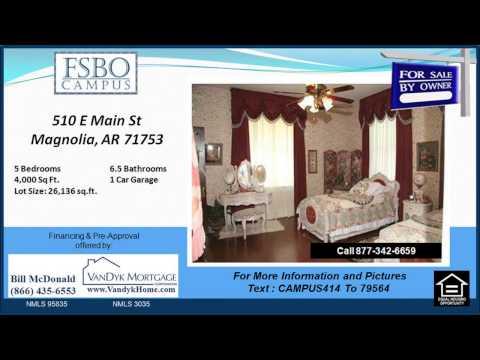 5 bedroom Home for Sale near Magnolia Junior High School in Magnolia AR