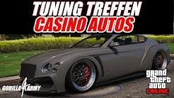 🔵 GTA 5 ONLINE | TUNING TREFFEN | CASINO DLC AUTOS | [ Gorilla Army ]