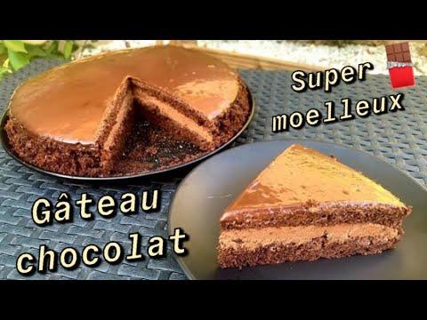 gâteau-au-chocolat-🍫-très-moelleux-facile-et-rapide