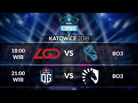 TEAM LIQUID vs OG (BO3) @ESL ONE KATOWICE MAIN EVENT 2018 Day 3