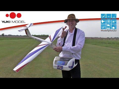Pilatus B4 von YUKI MODEL Video Testbericht - Flugbericht