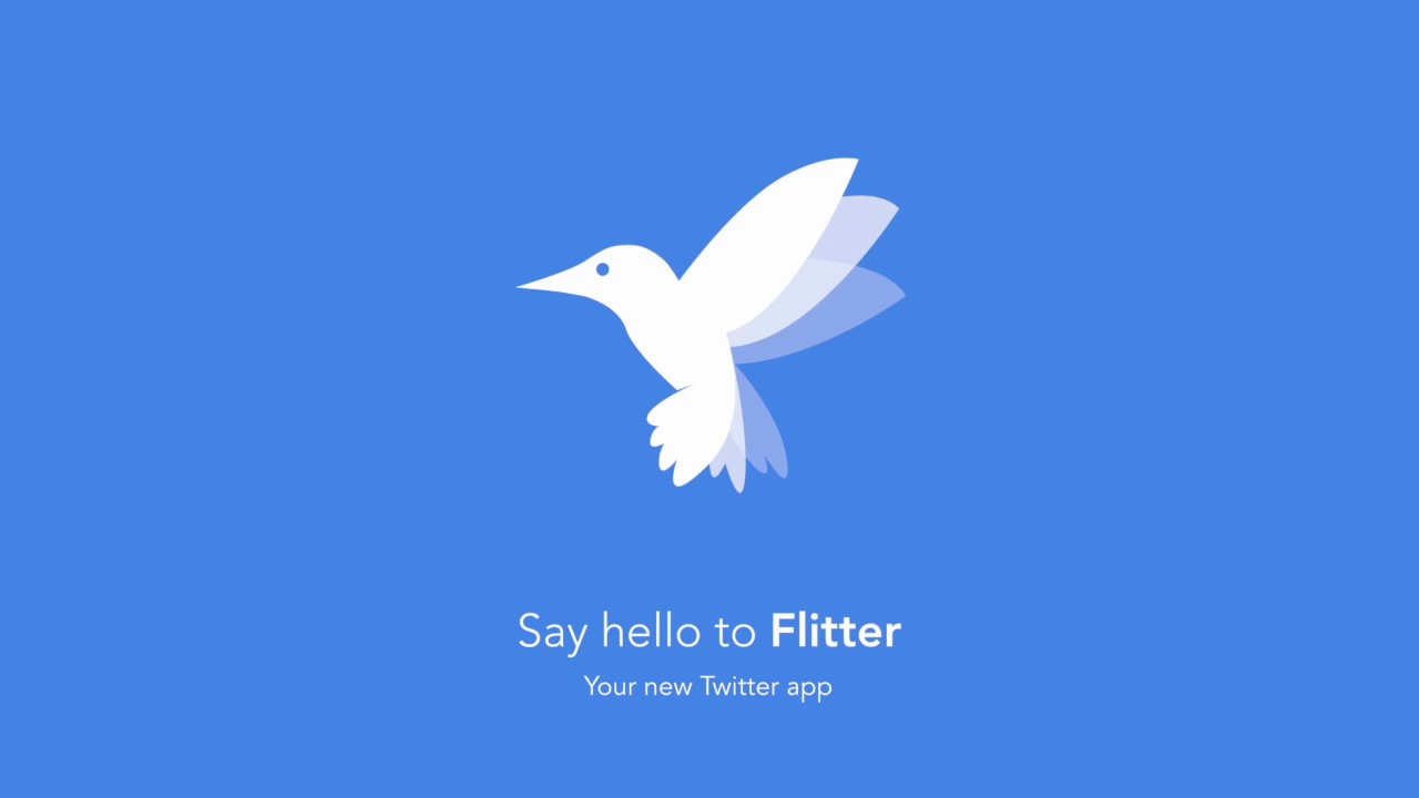 Flitter - A simple, beautiful Twitter client for iOS | Product Hunt