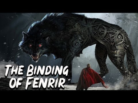 The Binding Of Fenrir - Norse Mythology Stories - See U In History