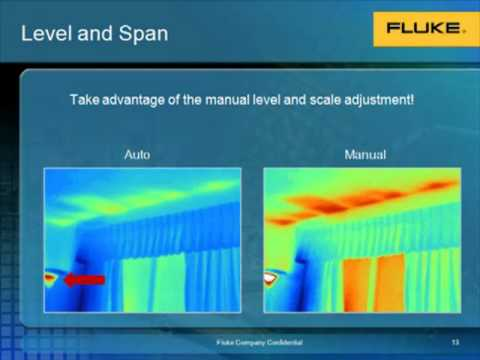 Fluke Thermal Imaging for Building Inspections