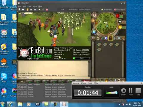 How To Use Epic Bot - Runescape