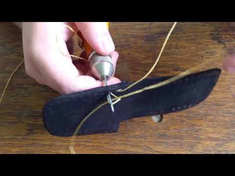 How to use a EZ sew awl