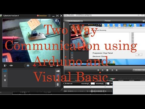 Visual Basic And Arduino Part #4:  Two Way Communication Sending And Receiving
