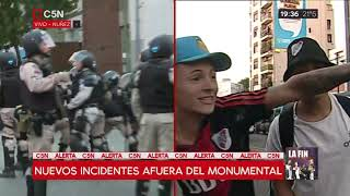Video: Violencia v/s superclásico