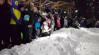 """Рождественское ледовое шоу в городе-парке """"Ясный берег"""""""