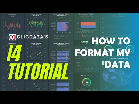 How to Format my Data - i4 ClicData tutorial