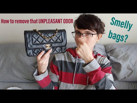 REMOVING That UNPLEASANT SMELL From Your Designer Bag! Coach To Chanel, These Methods Really WORK
