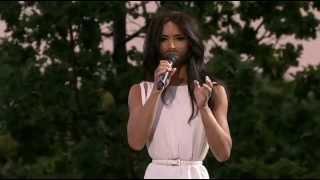 Conchita Wurst-Rise Like A Phoenix LIVE.Allsång på Skansen 2014.