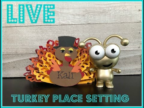 Turkey Place Setting