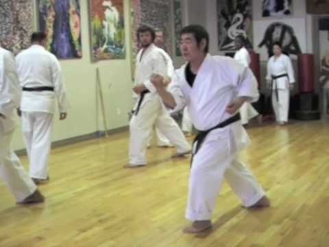 Karate Seminar With Kancho Takemasa Okuyama,  Video