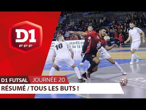 D1 Futsal, Journée 20 : Tous les buts I FFF 2018