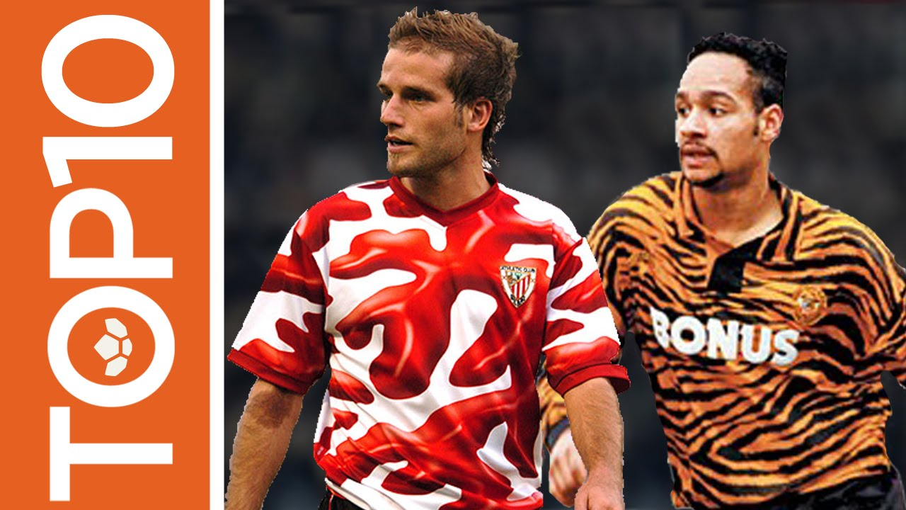 Top 10 Worst Football Kits Ever! - YouTube 06b1121f6
