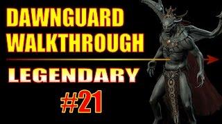 Skyrim Dawnguard Walkthrough Legendary Difficulty - Part 21, New Business Gear