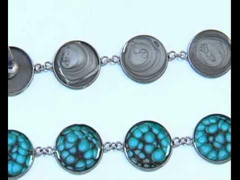 Création d'un bracelet - Fantasy Prisme Pébéo - CréaPause