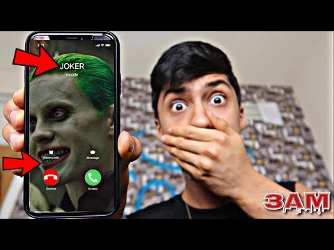 DO NOT CALL THE JOKER FROM SUICIDE SQUAD MOVIE AT 3AM!! *OMG HE CAME TO MY HOUSE*